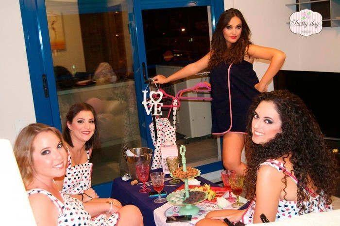 Beauty Party en Málaga para Priscila