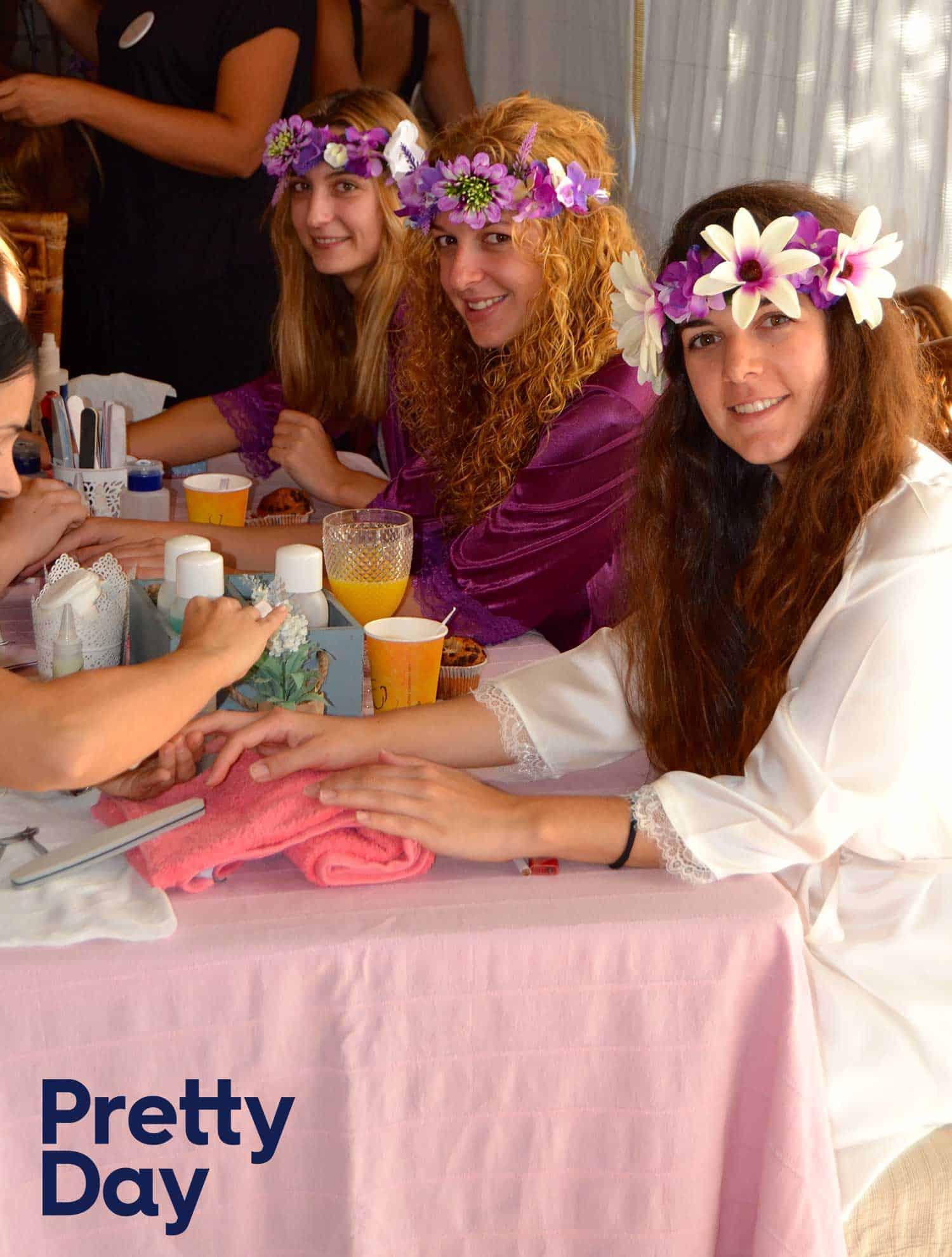 beauty party pre-boda