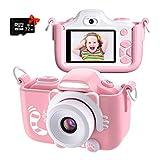 Kriogor Cámara de Fotos para Niños, Juguete Digital Cámara Zoom 2 Pulgadas 1080P HD Niño...