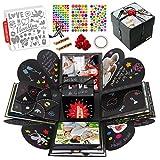 int!rend Caja de regalo | Caja de sorpresa explosion box, con 5 plantillas | Regalo para...