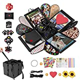 DASIAUTOEM Caja de Regalo Creative, Caja Fotos Regalo, Explosion Box, Caja Regalo Sorpresa DIY...