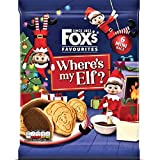 Fox's Mini Elf On The Shelf Galletas recubiertas de chocolate con leche, 132 g, 2 unidades