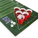 Mantel para Juego de Beer Pong Evil Jared´s | 60 Vasos Rojos + 6 Pelotas de Ping Pong |...