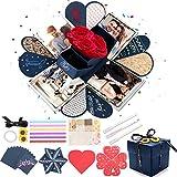 Aitsite Caja de Regalo, DIY Caja de Sorpresa Explosion Box, Caja de Fotos, DIY Álbum de Fotos...