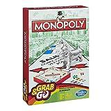 Hasbro Gaming Monopoly Juego de Viaje, versión española, Multicolor (B1002105)