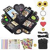 Caja Sorpresa Creativa Explosion Box, KIPIDA DIY Photo Album Scrapbook,Cumpleaños,San...
