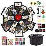 Gifort Caja Sorpresa, Caja de Regalo Creative DIY Photo Álbum Scrapbook Explosion Box Hecha a...