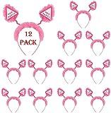 SHATCHI-Juego de 12 boppers para Despedida de Soltera, Color Rosa, 1 Pack (SH-HEN-1004)