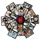 VEESUN Caja de Regalo Creative Explosion Box 6 Caras, DIY Álbum de Fotos Scrapbook Caja, San...