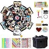 LEADSTAR Explosion Box, Álbum de Fotos Creative Scrapbook DIY de Bricolaje Libro Recuerdos...