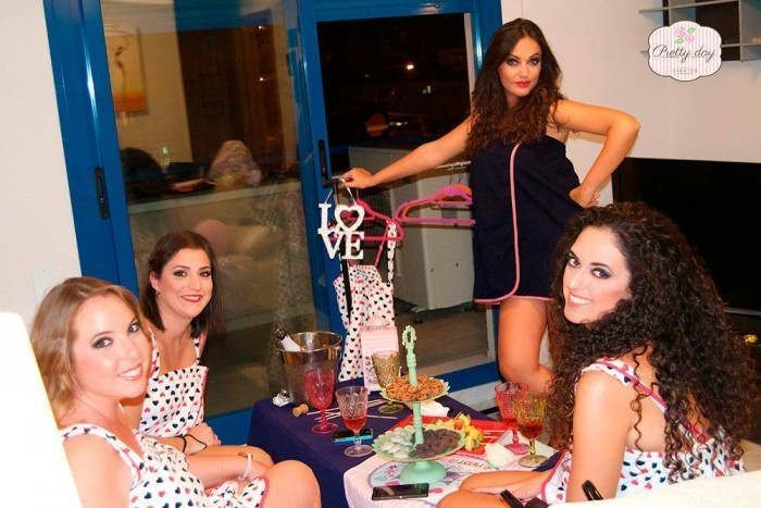Beauty Party en Málaga para Priscila
