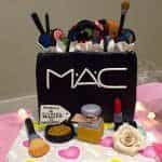 tarta para makeup party en malaga