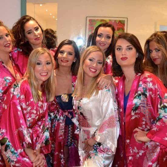 Makeup Party Para una Despedida de Soltera en Málaga