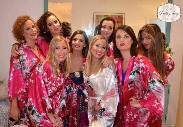 Makeup Party Para una Despedida de Soltera en Málaga