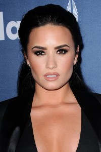 Demi Lovato Smokey eyes