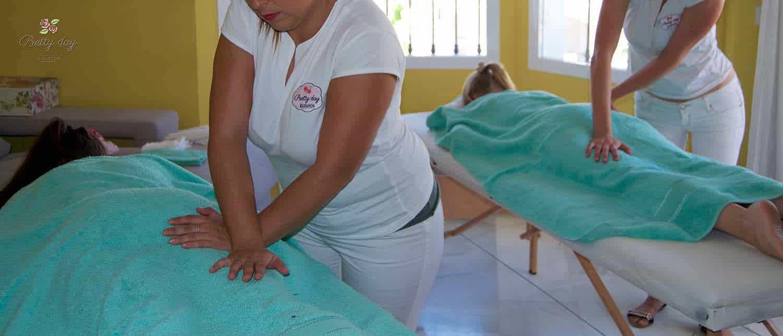 masaje a domicilio