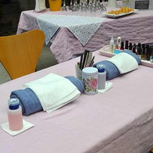 una beauty party en madrid organizada por Pretty Day Eventos