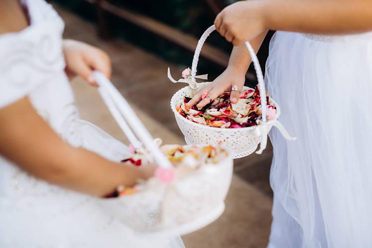 cestas boda